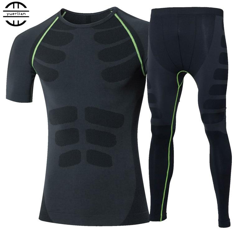 Kompozicioni Sportiv Yuerlian T-Shirt Sport Këmishë Pantallona të - Veshje sportive dhe aksesorë sportive