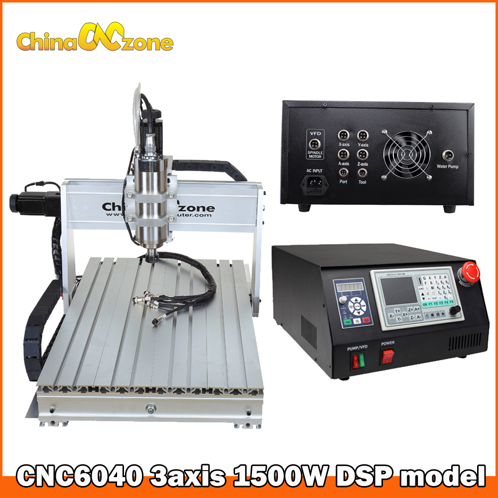 CNC Router 6040 1.5KW 3axis DSP Controller Box CNC Milling Cutting Engraving Wood Carving Machine DIY Hobby CNC Manufacturer