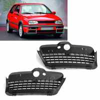 1 Pair Front Bumper Lower Grilles Right and Left Sides For VW /Golf MK3 1993-1998 1H685366601C
