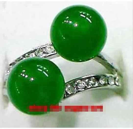 ร้อนขายรูปแบบใหม่>>>>ใหม่สีเขียวหินenchaseสุภาพสตรีแหวน