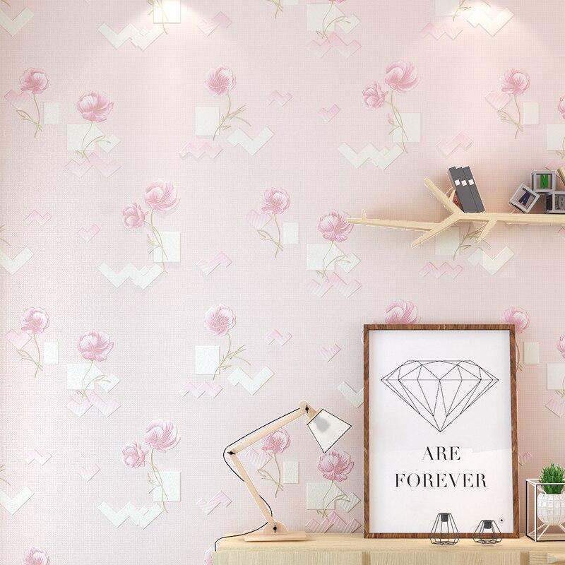 2017 Rushed Papel Pintado Paysota 3d Flower Non-woven Wallpaper Bedroom Sweet Marriage Room Living Sofa Tv Setting Wall Paper велосипедные перчатки mai senlan m81013
