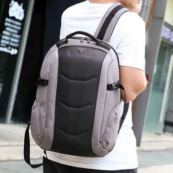 2019 OZUKO Fashion Business Laptop Backpack Men\'s Multifunction Waterproof Oxford Travel Backpack Casual School Bag For Teenager