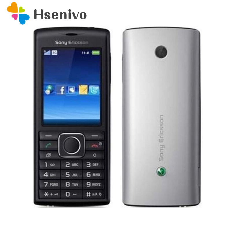 100% Original Unlocked Sony Ericsson J108i Mobile Phone 3G Bluetooth FM J108 Cell Phone Free Shipping