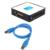 USB 3.0 Tudo em 1 SD TF M2 CF XD MS Flash Leitores de Cartão de Memória Adaptador Leitor de Cartão de memória de Alta Velocidade & Adaptadores VHE49 T0.25