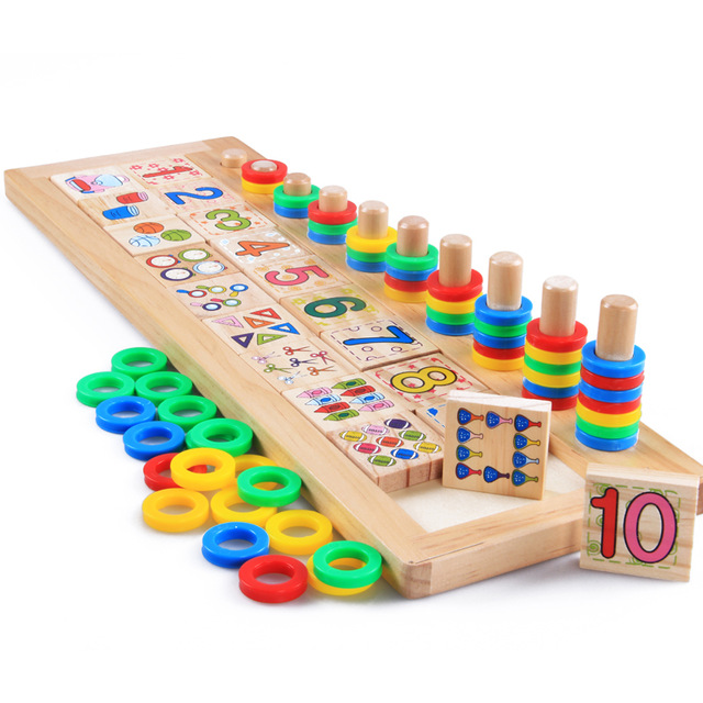 Free Shipping!Baby Toys Montessori Educational Wooden Toys ...