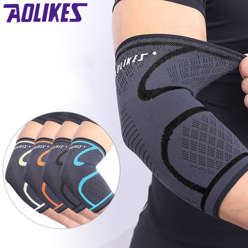 1 Pcs Running Cycling Knee Support Braces Elastic Nylon Sport Compression Pads Sleeve for Basketball Volleyball