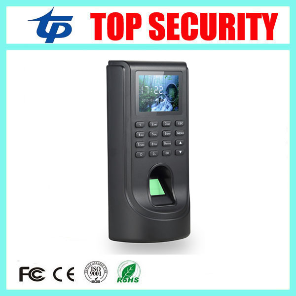 Cheap price TCP/IP biometric fingerprint access control terminal TFT color screen fingerprint time attendance and access control f807 biometric fingerprint access control fingerprint reader password tcp ip software door access control terminal with 12 month