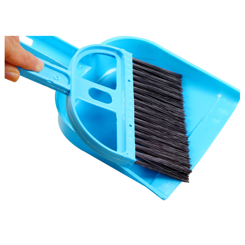 HOT GCZW-Mini Car Keyboard Cleaning Whisk Broom Dustpan Set