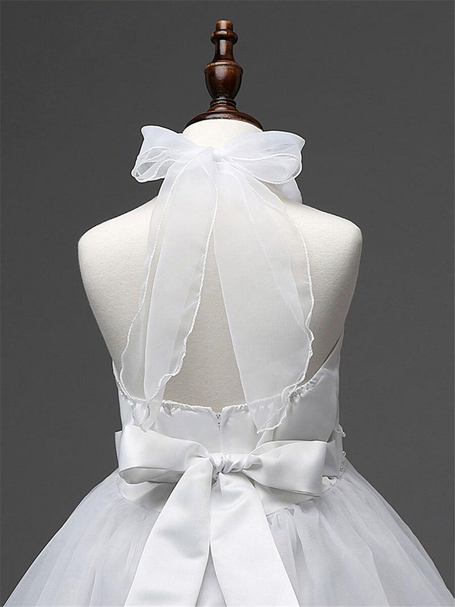 Blumenmädchen Kleid Für Hochzeiten Kinder Mädchen Spitze Prinzessin ...