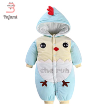 Baby Outerwear & Coats Winter romper Snowsuits Character Rompers Baby Snow Wear Newborn Snowsuits jacket for women boy Cotton