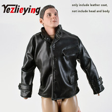 купить World War German SS officer 1: 6 scale clothing clothes leather jacket uniforms accessories for 12 inch action figure toy doll по цене 885.13 рублей
