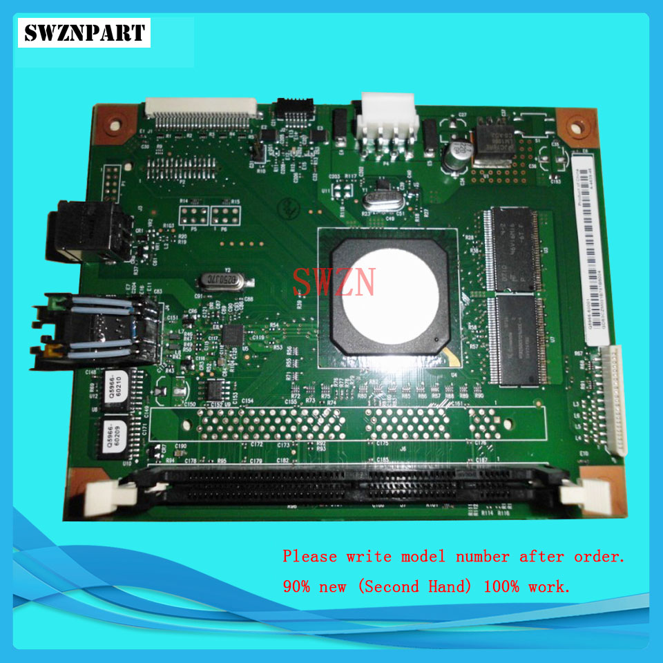 Free Shipping! FORMATTER PCA ASSY Formatter Board logic Main Board MainBoard for HP 2605N 2605DN 2605DTN Q5966-60001 formatter pca assy formatter board logic main board mainboard mother board for hp m775 m775dn m775f m775z m775z ce396 60001