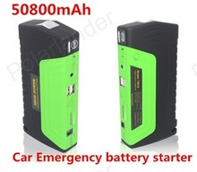 Mini best selling 50800mAH booster batteries car jump starter with pump 2 USB power bank for 12V car