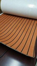Судовая лодка EVA Teak Deck Sheet MLS светло-коричневый с черной полосой 35 X 94 1/4