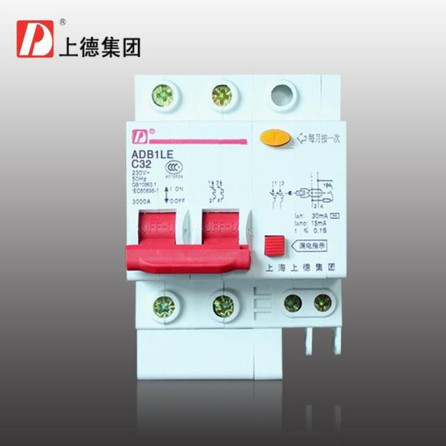 Group on household residual current protection switch/circuit ...