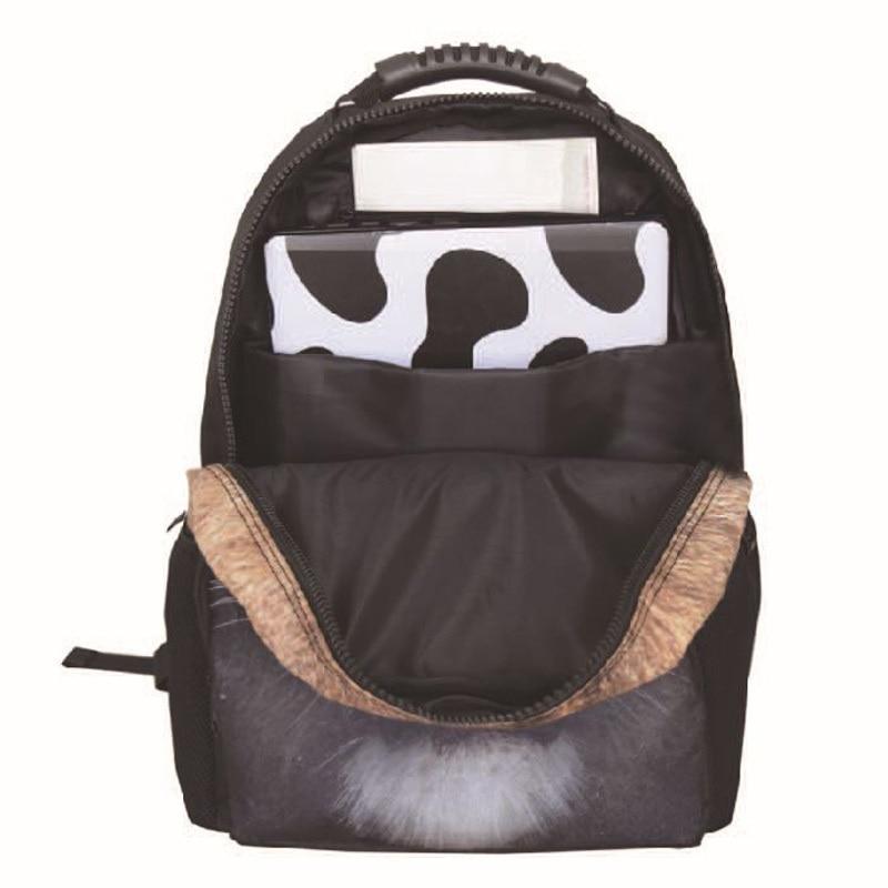 Fashion Cheetah Tiger 3D Animal Backpack School Bags For Girls Boys Students Childrens SchoolBag Cute Bookbags Mochila Feminina In Backpacks From Luggage