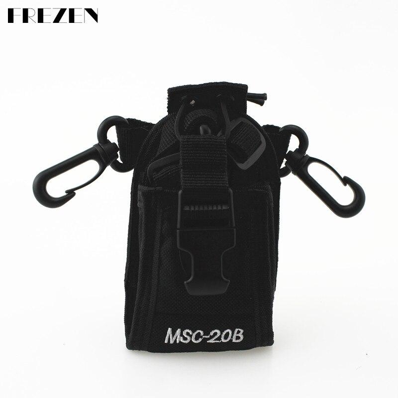 FREZEN MSC-20B Black Camouflage Portable Radio Case Holder For ICOM Baofeng UV-5R/5RE/5RA PLUS TYT TH-F8+ Yaesu/Vextex