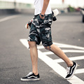 2017 New Arrival High Quality Plus Size 29-42 Mens Casual Shorts Men's Camouflage Loose Cargo Shorts Mens Cool  Shorts R377