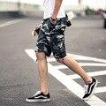 2017 Nueva Llegada de la Alta Calidad Más El Tamaño 29-42 Mens Casual Pantalones Cortos de Camuflaje de Los Hombres Pantalones Cortos Sueltos Hombres Pantalones Cortos frescos R377