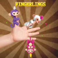 Cute Smart Fingerlings Baby Toy Monkey Hand And Feet Interactive Fingerlings Monkey Electronic Pets Kawaii Toys