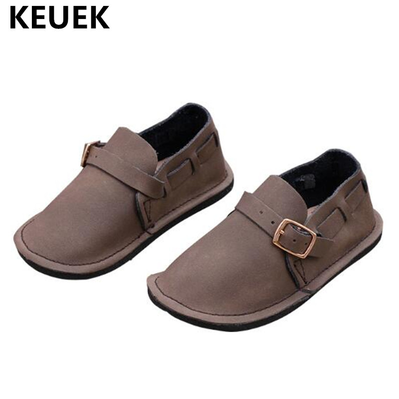 2018 Spring/Autumn Loafers Moccasins Children Shoes Slip On Genuine Leather Baby Boys Girls Casual Flats Toddler Shoes Kids 02|Leather Shoes| |  - title=