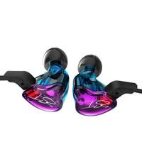 KZ ZST Pro HiFi Music Earphone Armature Dual Driver Earphone Detachable Cable Audio Monitors Noise Isolating