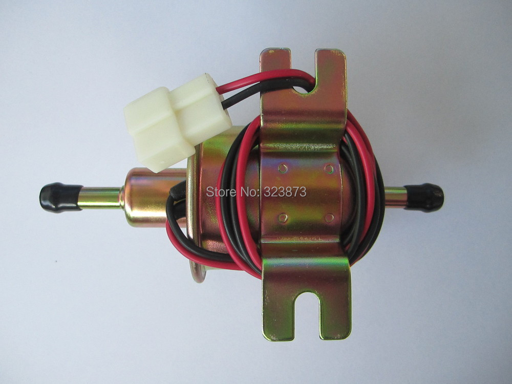 Image 4 - 12V Electric Fuel Pump Low Pressure Bolt Fixing Wire Diesel Petrol HEP 02A HEP02A fuel pump for carburetor, motorcycle , ATV-in Fuel Pumps from Automobiles & Motorcycles
