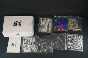 Image 5 - لعبة تركيب ألعاب آلية مجسمة على شكل جناح جاندام صفر ew MG 1/100