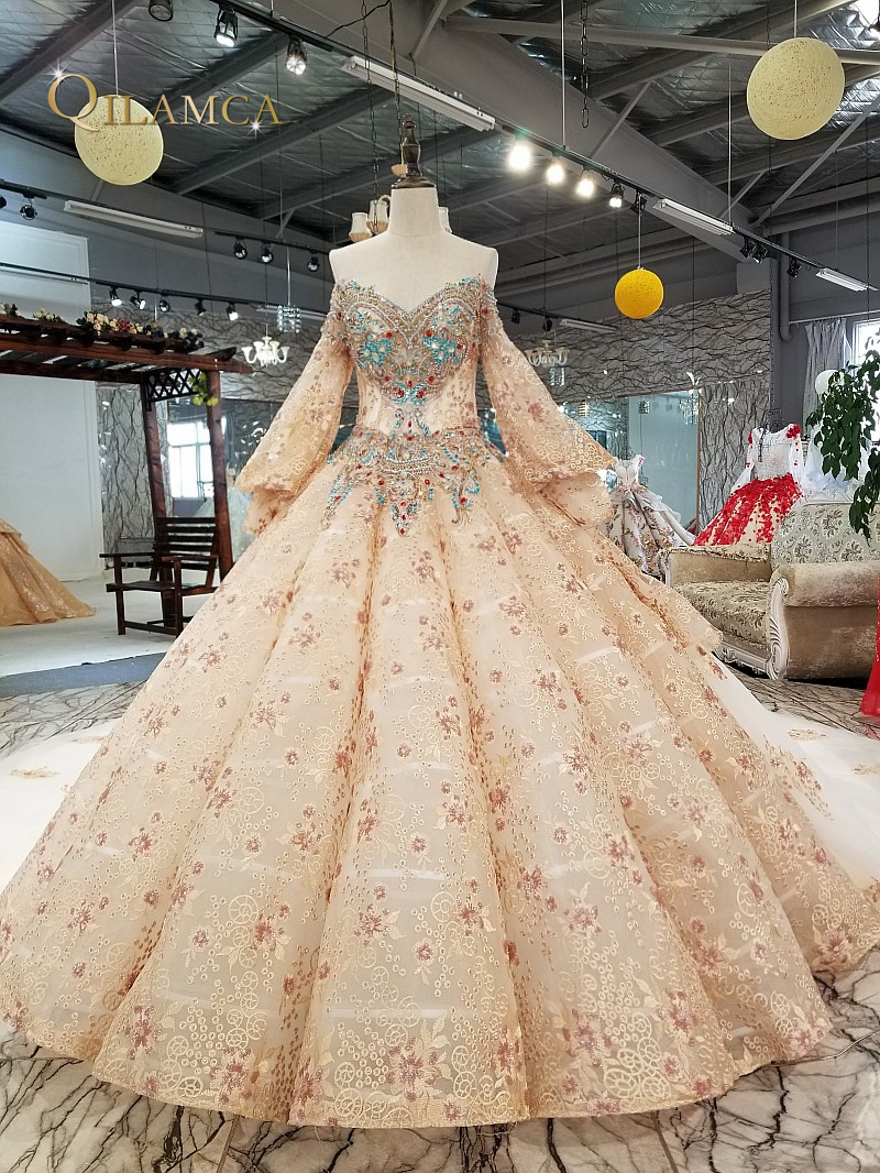 heavy beaded evening dresses long sleeve flower pattern gowns sexy prom evening dresses china alibaba wholesale