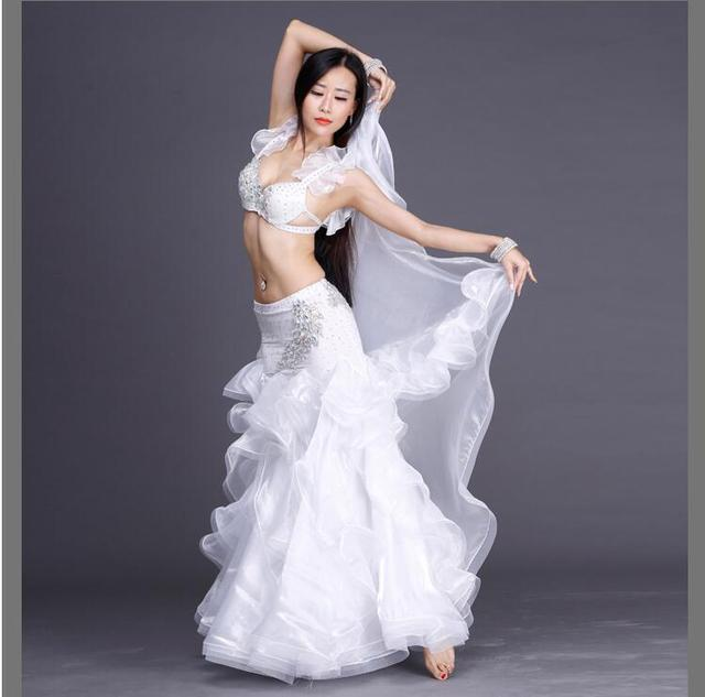 New Quality Belly Dance Costumes Women Stage Performance Show Party