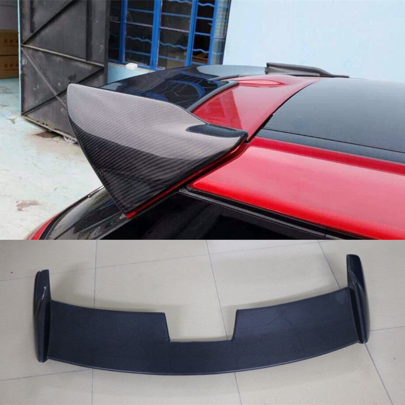 Evoque Carbon Fiber Rear Window Mount Spoiler Evoque Roof Spoiler Wing Tuning Parts Accessaries Case For Land Rover 2011-2015