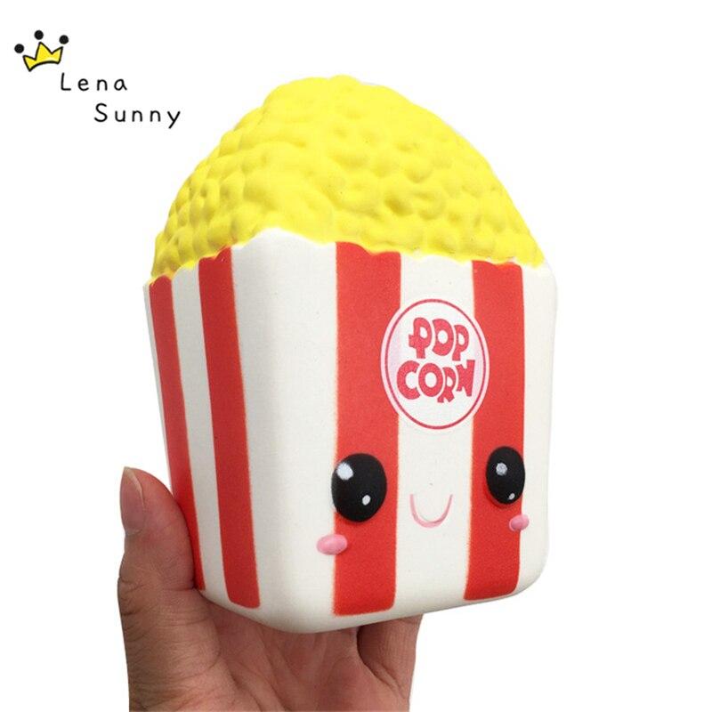 15 teile/los Squishy Duft Popcorn Weichen Langsam Rising, Kinder Gags & Praktische Witze Duftenden Squeeze Popcorn Spielzeug Hause Dekoration-in Gags & Schabernack aus Spielzeug und Hobbys bei  Gruppe 1