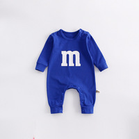 Brandwen Baby Clothing New Newborn Baby Boy M M S Character Girl Winter Romper Clothes Long