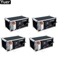4Pcs/Lot 1500W Haze Smoke Hazer Mist Fog Machine Smoke Machine For Special Effects With DMX512 And Remote Control