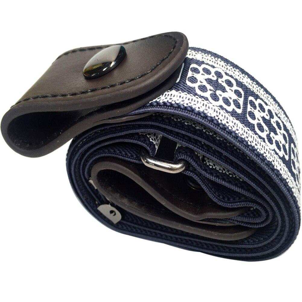 Buckle Free Elastic Belt For Jean Pants Dresses No Buckle Stretch Elastic Waist Belt For Women Men No Bulge Waist Belt 5 in Women 39 s Belts from Apparel Accessories