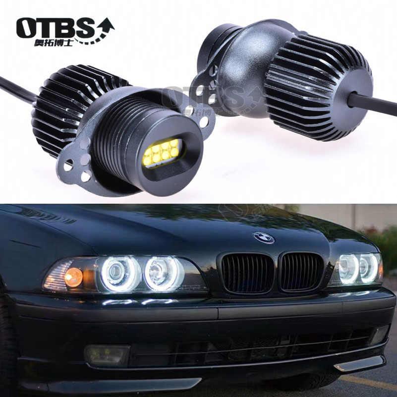 Quaanti Car Eye Light,Car-Styling CARPRIE 2x80W Angel Eye Light for BMW E90 X 5 E71 X 6 Report Black