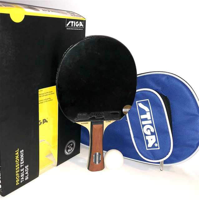 33596e5ca6bd Super Light Stiga Allround Classic Master Table Tennis Bat Offensive  Racquet Sports Ping Pong Finished Rackets