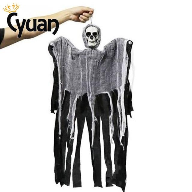 Aliexpress Com Buy Cyuan 100cm Skull Skeleton Halloween Door