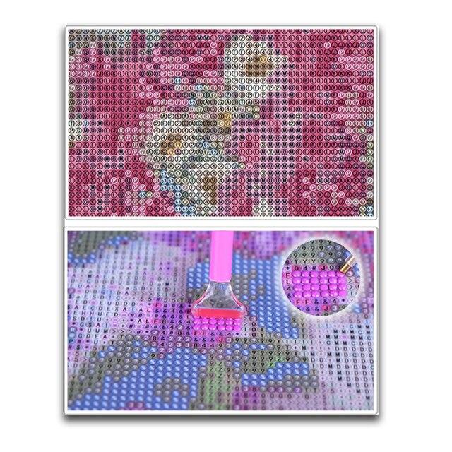 Tableau noir perceuse résine ruban | Os de chien, mosaïque 5D, broderie diamant peinture 3D, Kit de point de croix autocollant, décor de pièce