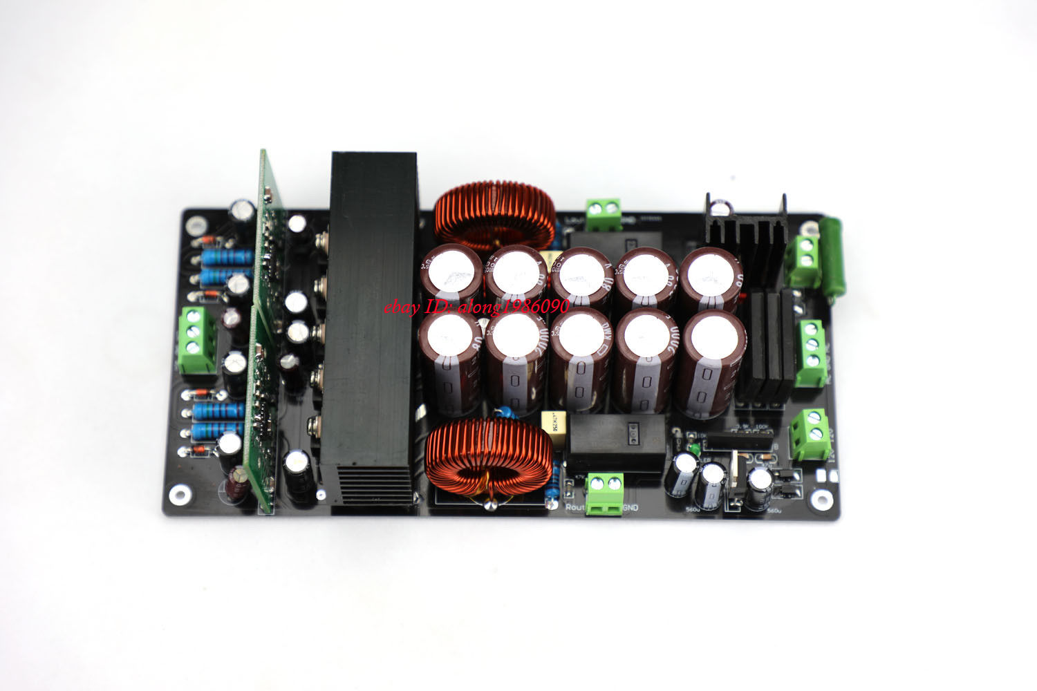 GZLOZONE High Voltage Version IRS2092 Class D Power Amplifier Board 800W 800W L10 26
