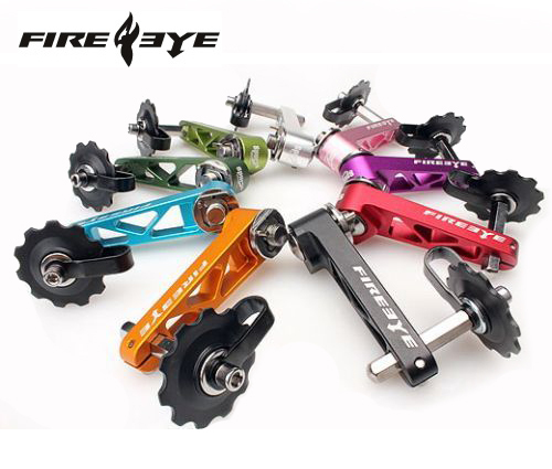 Fire eye  The super SSK bike bicycle chain tensioner for refitting single speed bike colorfulFire eye  The super SSK bike bicycle chain tensioner for refitting single speed bike colorful