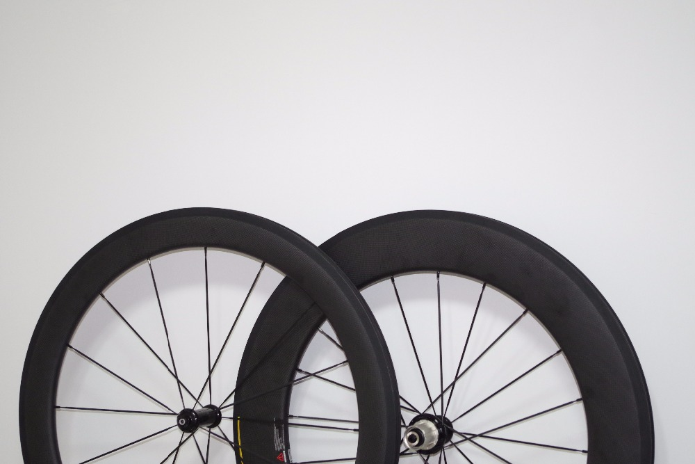 COMBO Front 60mm Rear 88mm 700c Carbon Road Clincher Tubeless Bike Wheels 23mm Wide Bicycle Wheelset