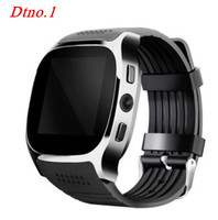 Fashion T8 Bluetooth Smart Watch For Android Phone Smartwatch Men Women With Camera Facebook Whatsapp Support
