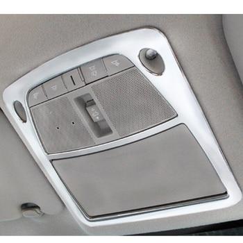 2016 2017 2018 pantalla de lectura frontal de coche cubierta de Panel de luz embellecedor accesorios de Shell estilo ABS mate para Nissan Sentra