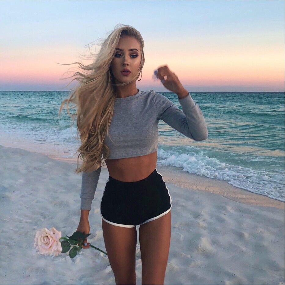 Women Cotton Blend Summer Shorts Pants Contrast Binding Side Split Elastic Waist Patchwork Casual Short Pant