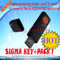 free shipping sigma key sigmakey dongle +pack1 for alcatel for huawei for Mtk for Motorola flash repair unlock