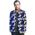 Moda para hombre de pie cuello de ropa de diseño balzers dashiki africano hermoso traje de impresión capa a medida ropa de áfrica