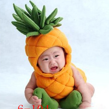 New Novel Studio's Other Photographic Shoot Baby Clothes Pineapple Baby Age 100 Day Dress Photography Free Ship
