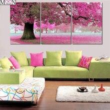 Алмазная 5d живопись «сделай сам» вышивка крестиком Сакура деревья