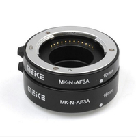 Hot Sale Meike MK N AF3A Metal Mount Automatic AF Auto Focus Macro Extension Tube Ring